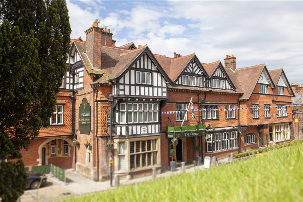 The Crown Manor House Hotel, High Street, Lyndhurst, Hampshire