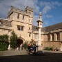Accommodation in Corpus Christi College, Oxford